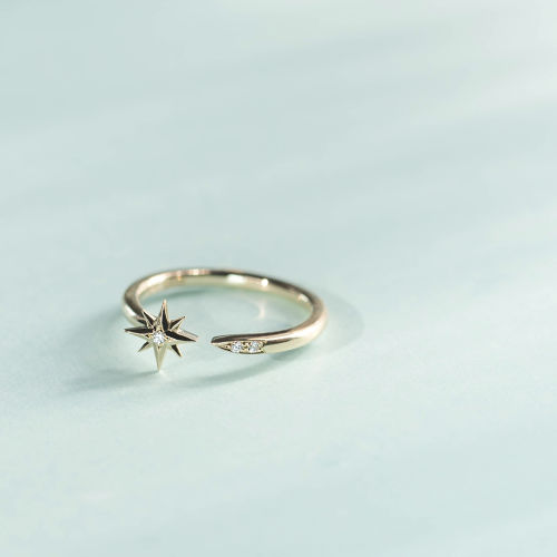 Sirius -Ring-◇K14YG/PG×Diamond 0.017ct