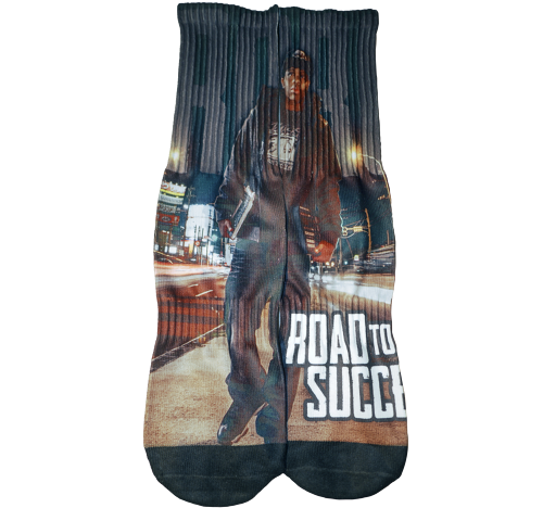 """""""ROAD TO SUCCESS"""" SP Edition Socks (Free size)"""