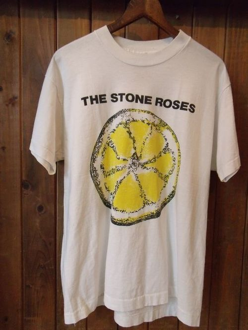 Vintage★80's 【THE STONE ROSES】<Lemmon>Tee