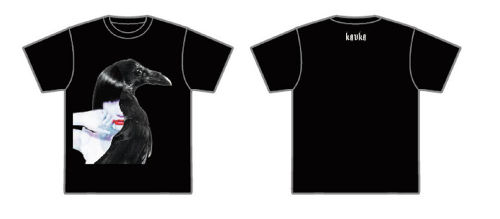 KAVKA T-shirts 「Can you feel this kisses?」ver. 【BLACK】