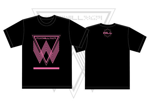 WiLL Tシャツ2017 ピンク