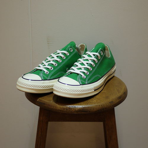 """CONVERSE Chuck Taylor 1970S (CT 70 LOW) Size5,9 """"Green,Dead Stock"""""""