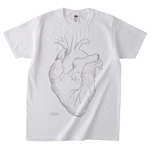 FLAVOUR OF ISLAY TOUR Tシャツ(心臓・White)