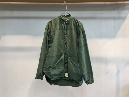 "TENDER Co.""Laundry Cloth Wallaby Pocket Tail Shirts KHAKIGREEN"""