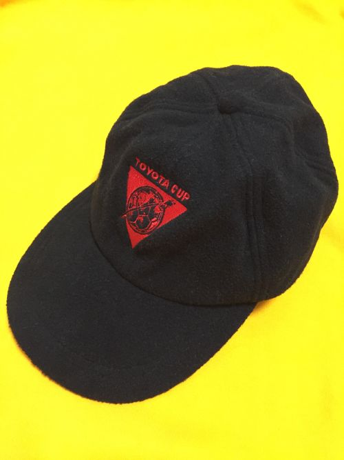 early2000's TOYOTA CUP fleece cap