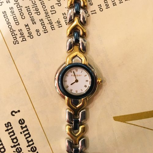 YSL  Ychain bracelet watch
