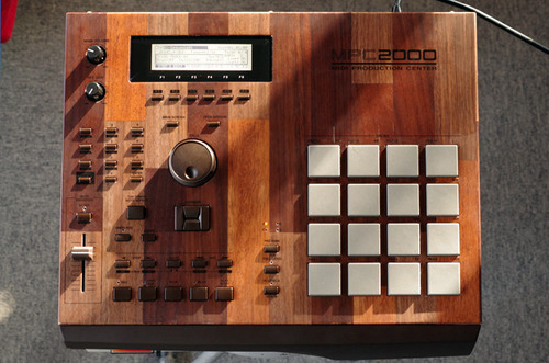 """MPC2000 """"mosaic"""" customized by ghostinmpc"""