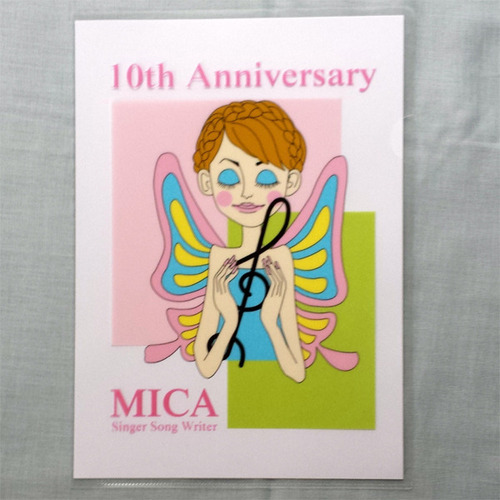 MICA 10th Anniversary クリアファイル