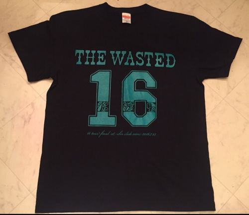 "【THE WASTED】THE WASTED""16 Tour FINAL OneMan"" T-Shirt"