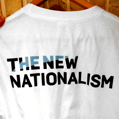 THE NEW NATIONALISM Tシャツ
