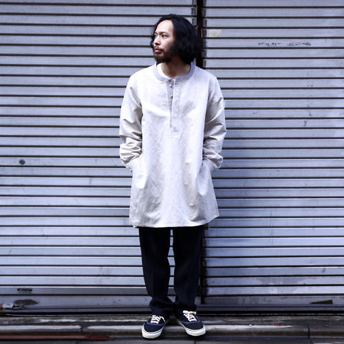 【Varde77】FLY FRONT SEMILONG SHIRTS