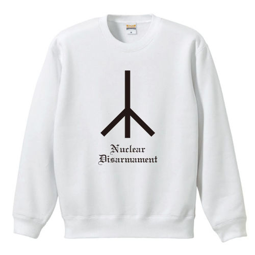 Nuclear Disarmament(SWEAT) ホワイト
