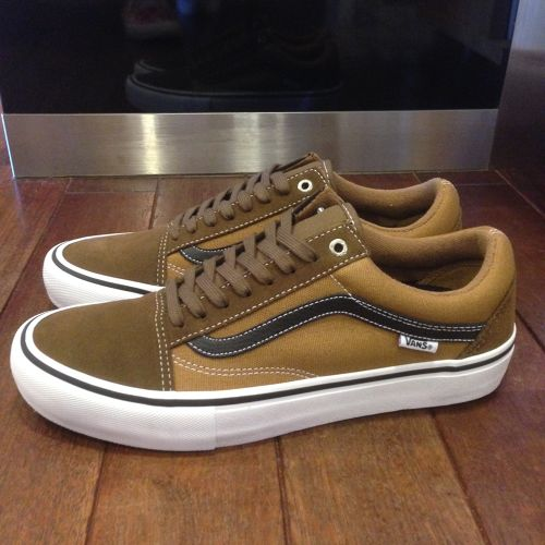 "VANS / ヴァンズ | OLD SKOOL PRO "" TWO-TONE "" TEAK/MEDAL BRONZE"