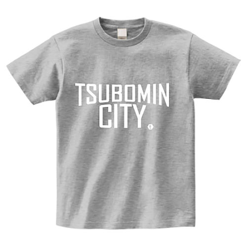 TSUBOMIN / TSUBOMIN CITY T-SHIRT GRAY