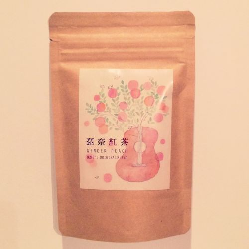 琵奈紅茶 -GINGER PEACH-