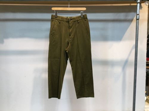 "CURLY""BRCE WD TROUSERS KHAKI BEIGE"""