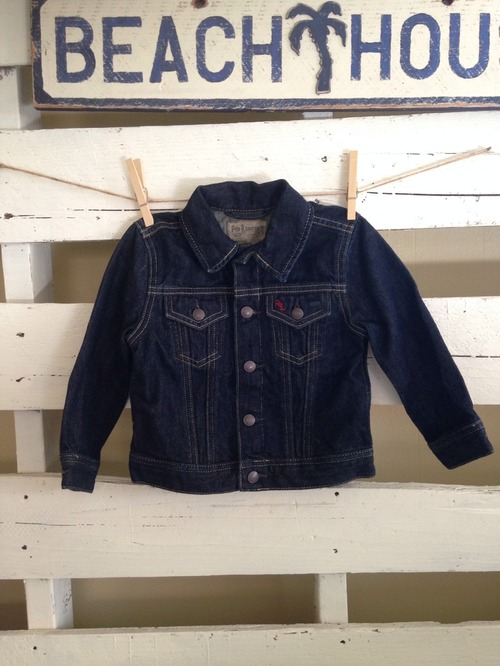 【KIDS】RLPH LAREN // DENIM JACKET