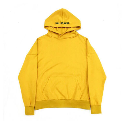 TTT_MSW HELL IS REAL LIMITED PARKA YELLOW