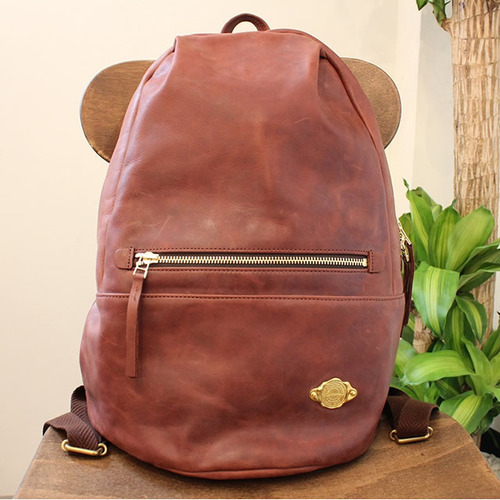 Ruck Sack / RED BROWN