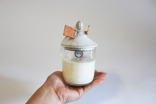 New House Soy Candle(White-Ssize)
