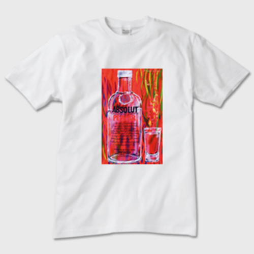 ABSOLUT PEPPAR Tシャツ 白
