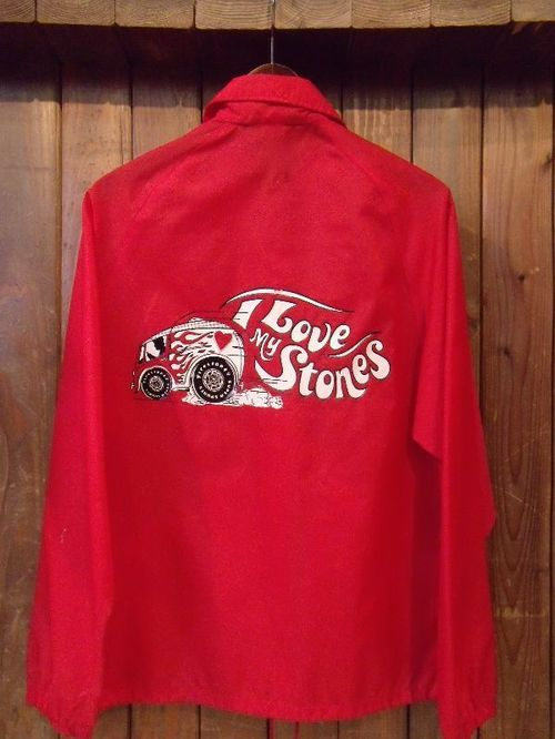 Vintage★70's 【FIRESTONE】Official Coach Jacket