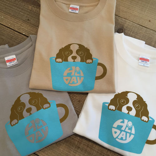 Tシャツ[HOLIDAYCOFFEE]