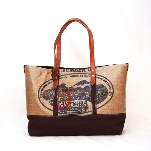 HAMPU TOTE L/brown・Guatemala