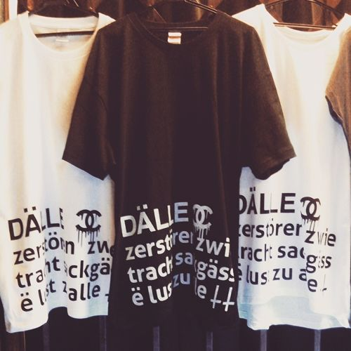 【DALLE】big tee / 2nd <black・L>