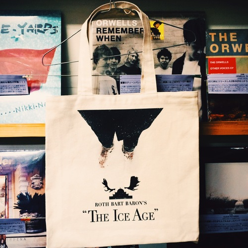 """ The Ice Age "" Vinyl Tote Bag"