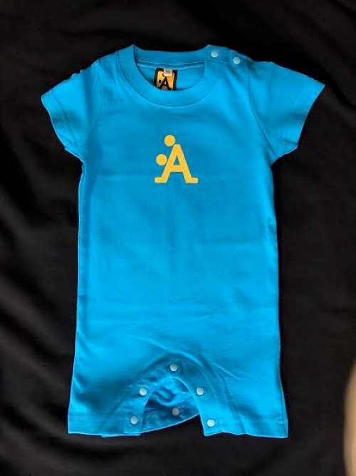 Baby A-STYLE Rompers(Overalls) in TurquoiseBlue