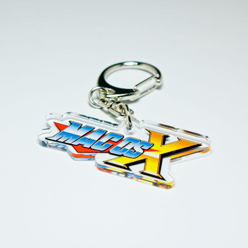 "Acrylic Key Ring ""Maverick X"""
