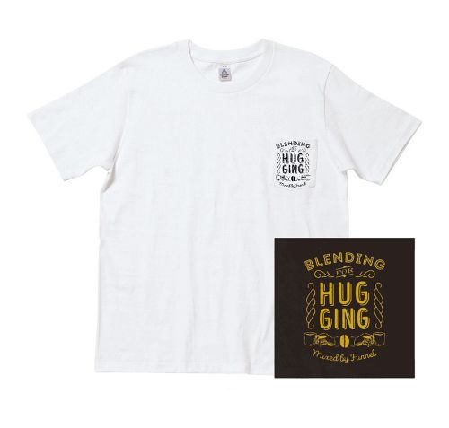 DJ FUNNEL 「Blending For Hugging」CD + Pocket T-shirts(White)