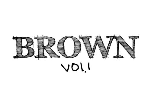BROWN1 1stフルアルバム MIX CD付き