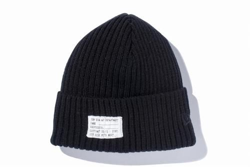 NEWERA Military Knit Patch ブラック