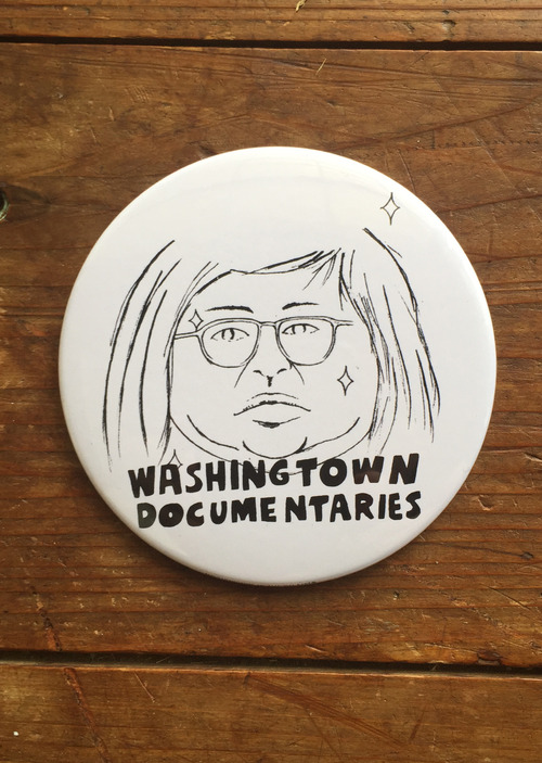 WASHINGTOWN DOCUMENTAIRES缶バッジ