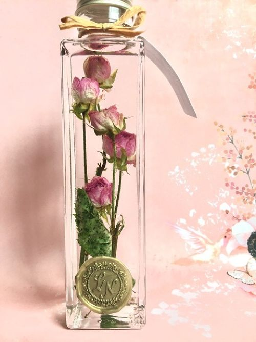【in the bottle】rose / pink