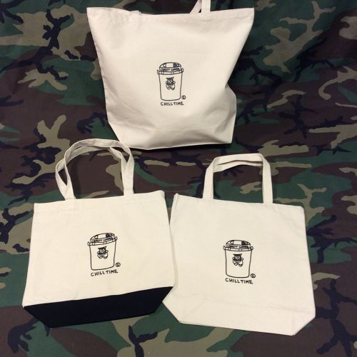 CRASTY CHILL TIME TOTE BAG (HOT COFFEE)