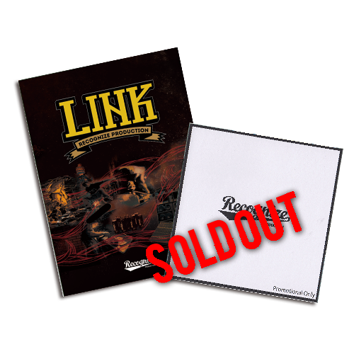 """RECOGNIZE 2ND DVD """"LINK"""" with DJ KIYO LINK PREMIERE LIVE MIX LIMITED100."""