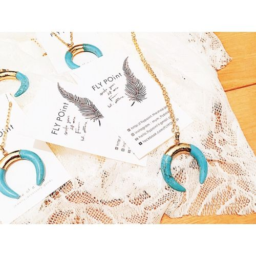 -HORN necklace-