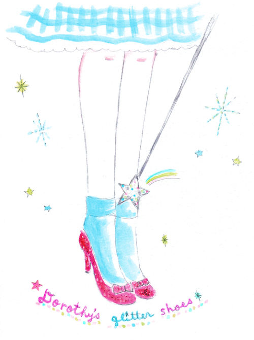 原画 dorothy's ruby shoes