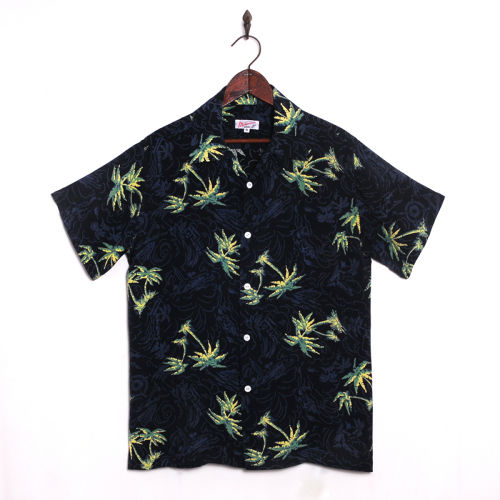 Mountain Mens Open ヴィンテージ復刻モデル / Palm tree Navy