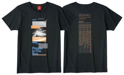 10th Anniversary『Things Discovered』release tour 限定Tシャツ(スモークブラック)