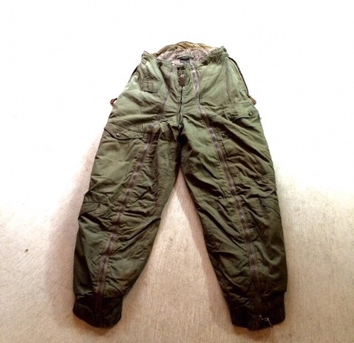 1940s vintage USAF A-11 flight trousers