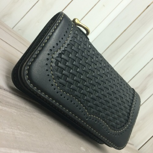 【Wingtip Basket Long Wallet】