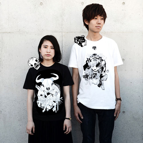 [Tシャツ] ニク / ホネ