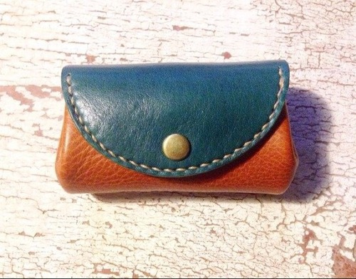 Coin case (Turquoise)