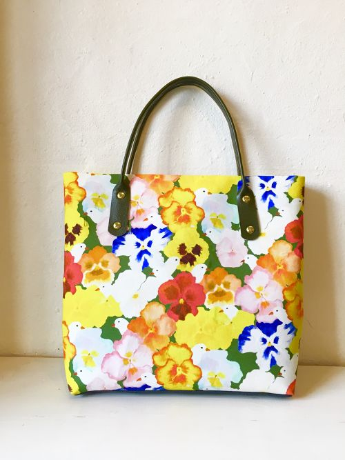 cotori pansy/ square bag