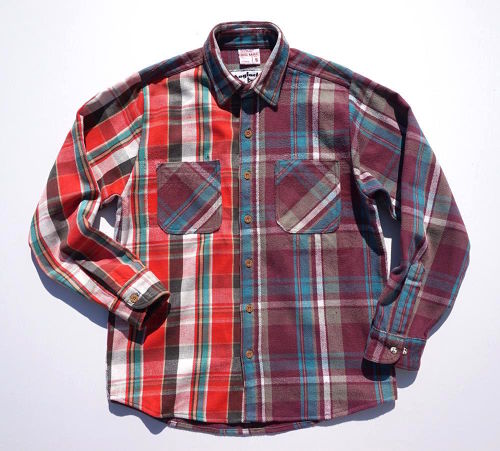 [UNION FLANNEL SHIRT] size:S