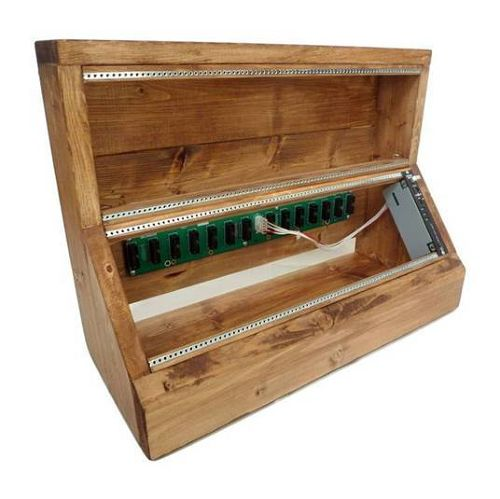 168HP Wood Case with POWER BASE VC-005